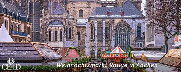 Weihnachtsfeier Aachen – digitale Rallye über den Weihnachtsmarkt – b-ceed: eventagentur
