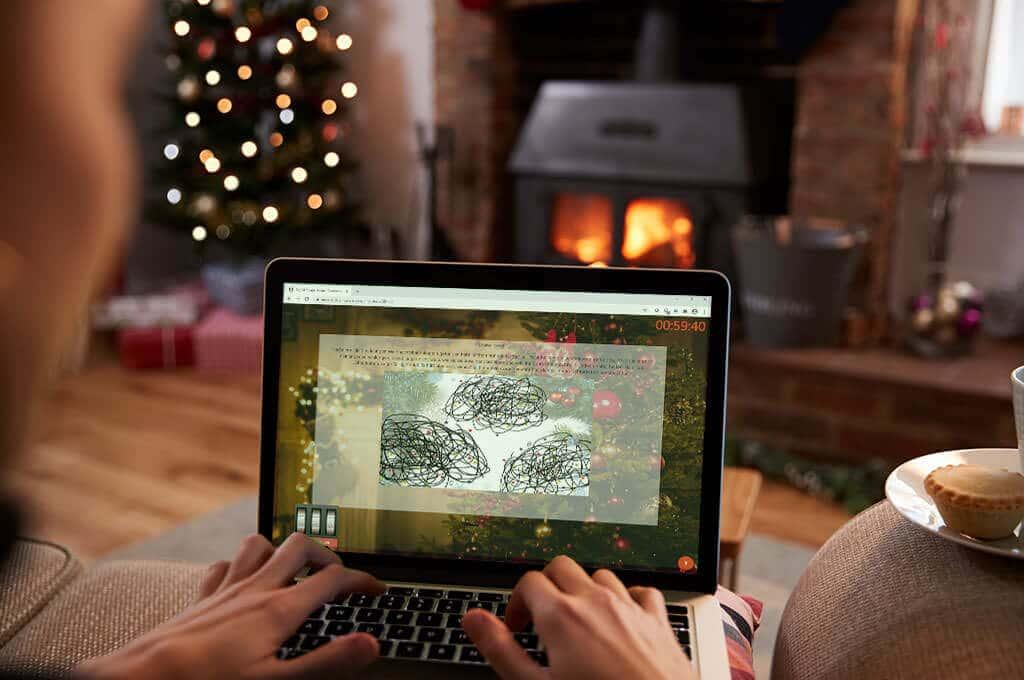 Virtuelle Weihnachtsfeier von b-ceed: Online Escape for Christmas