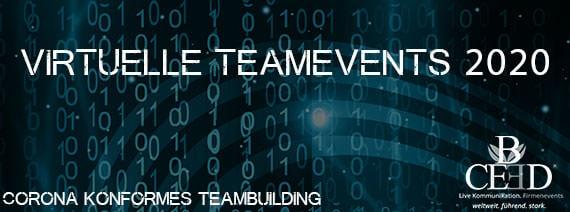 Corona konforme Teambuilding Events 2020 von b-ceed: eventagentur