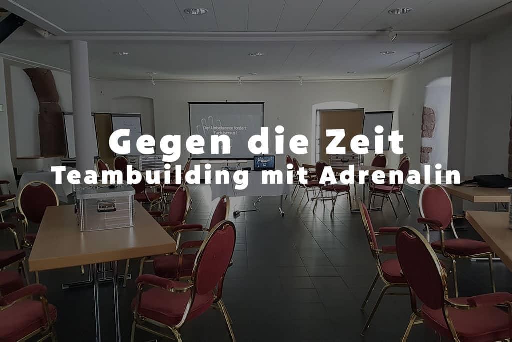 Gegen die Zeit das Teambuilding mit Adrenalin b-ceed: events!