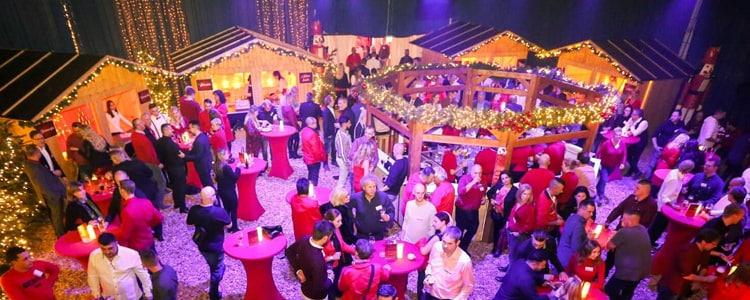 Mobiler Weihnachtsmarkt als Weihnachtsfeier für Firmen von b-ceed