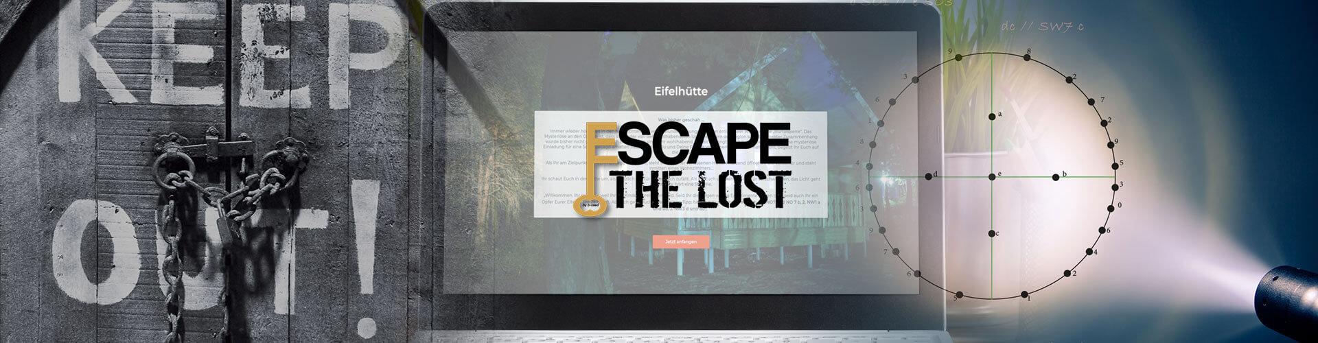 Online Escape Game Eifelhütte als Remote Teamevent von b-ceed Eventagentur
