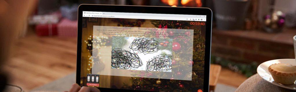 Online Escape Room zur virtuellen Weihnachtsfeier mit dem Team - b-ceed eventagentur