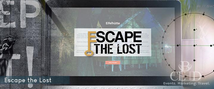 Escape The Lost - Online Escape Teamevent von b-ceed