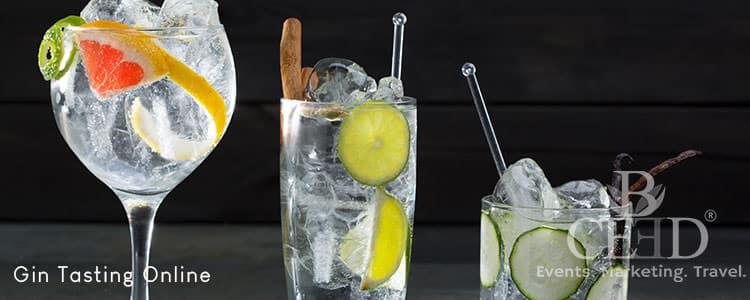 Gin Tasting Online Event - Eventagentur b-ceed Teamevents Online 2021