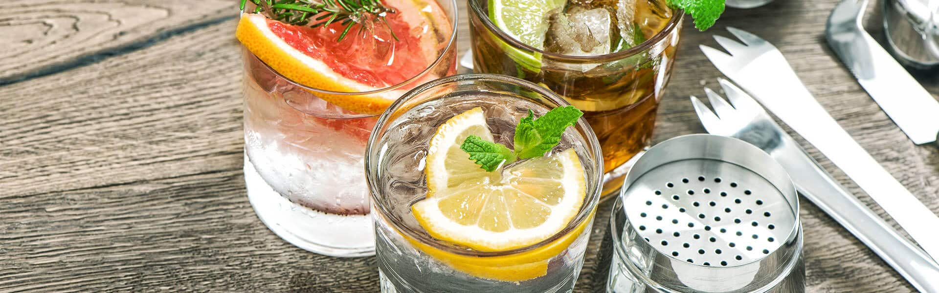 Gin Tasting als virtuelles Teamevent mit der Eventagentur b-ceed