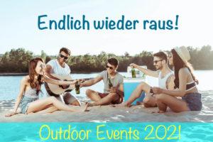 Outdoor Events 2021 - bceed Eventagentur - Betriebsausflug und Teambuilding