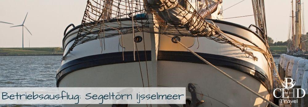 Segeln Ijsselmeer - Betriebsausflug und Teambuilding fuer kleine und grosse Teams - bceed events
