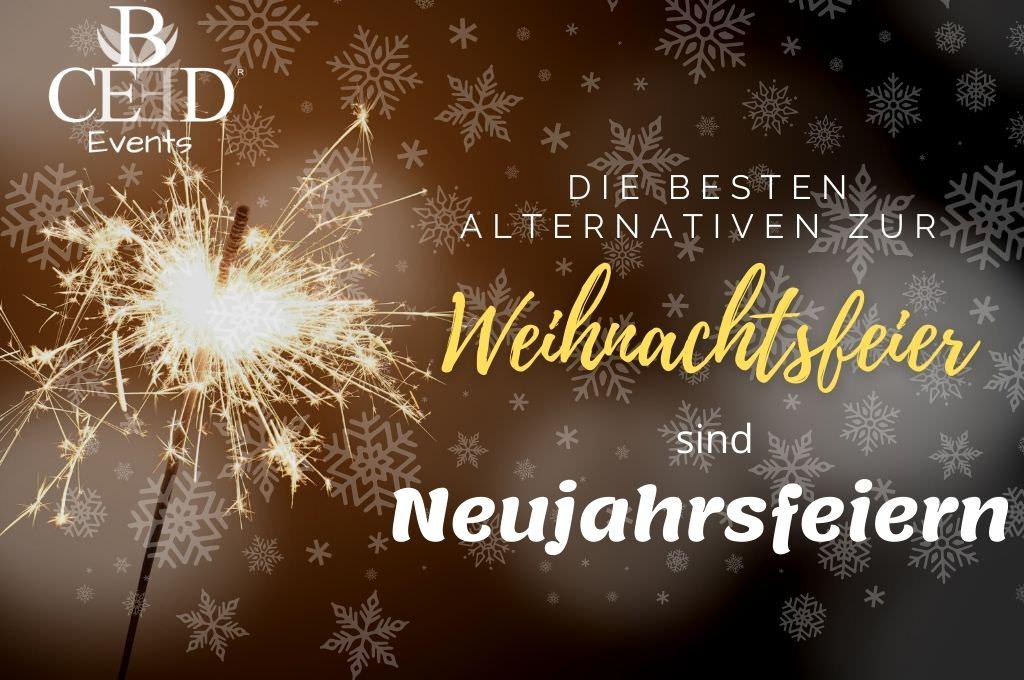 Neujahrsfeier Alternativ zur Weihnachtsfeier - Eventagentur b-ceed Firmenevents und Teambuilding im Winter