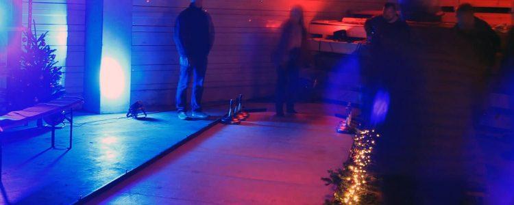 Eisstockschießen auf Weihnachtsfeier mit dem mobilen Weihnachtsmarkt oder der Apres Ski Party und b-ceed
