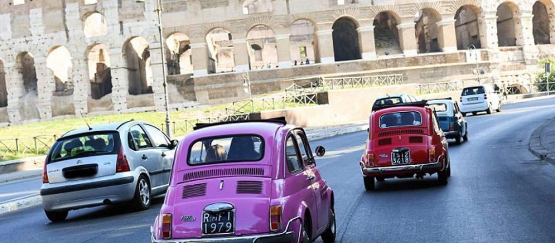 Incentive Reise nach Rom mit Oldtimer Fiat Tour und b-ceed