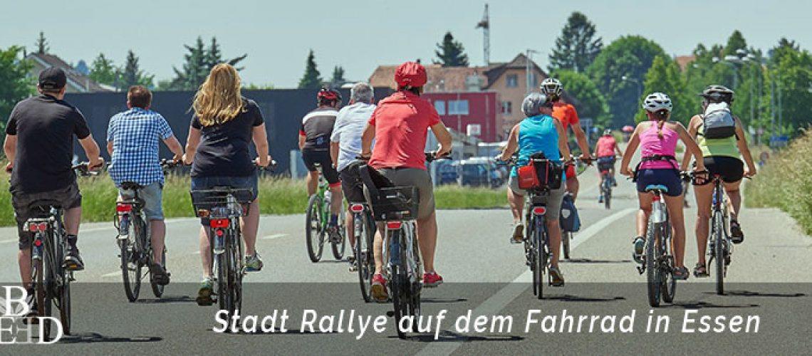 Fahrrad Rallye durch Essen - der Firmenausflug und das Teamevent ab 10 Personen | b-ceed: Eventagentur in Essen