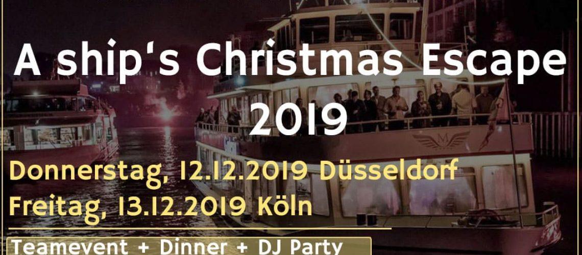 weihnachtsfeier in köln, weihnachtsfeier in düsseldorf 2019